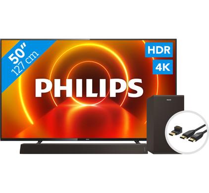 Philips 50PUS7805 - Ambilight + Soundbar + HDMI kabel