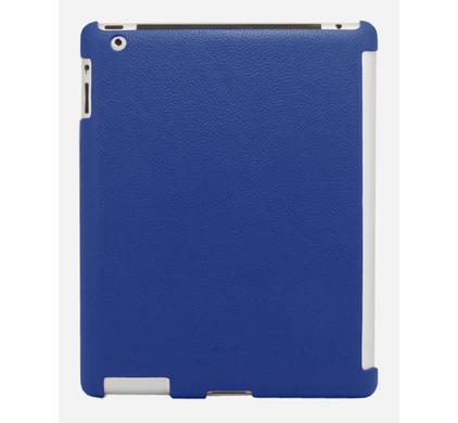 Melkco Leather Snap Cover Blue iPad 2 + Screenprotector