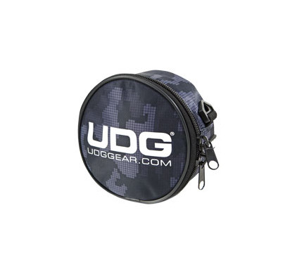 UDG Ultimate Headphone Bag Digital Camo Grey + Lader