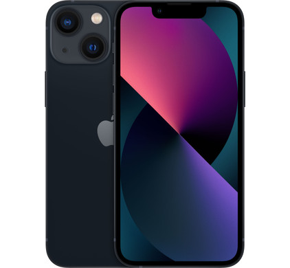 Apple iPhone 13 mini 128GB Zwart