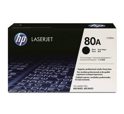 HP 80A Toner Zwart (CF280A)