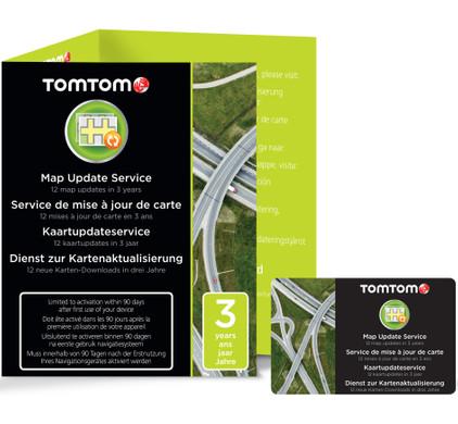 TomTom Map Update Service (3 jaar) + TomTom Multi Autolader