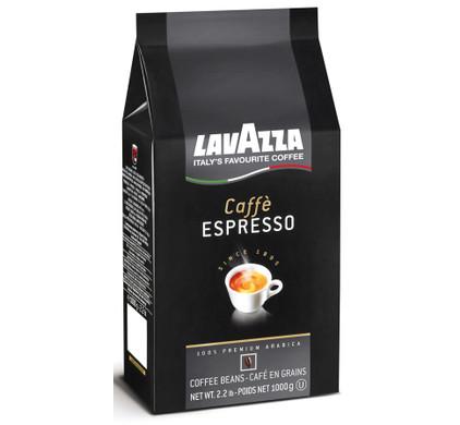 Lavazza Caffe Espresso Black grains de café 1 kg