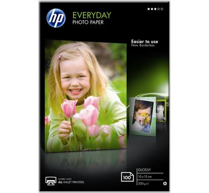 HP Everyday Glossy Fotopapier 100 Vel (10 x 15)