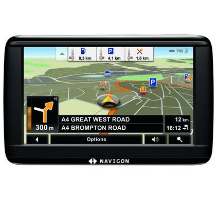 Navigon 42 Essential + Tas + Thuislader