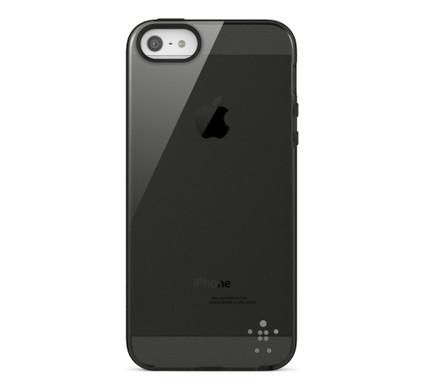 Belkin Grip Vue Back Case Apple iPhone 5/5S/SE Black
