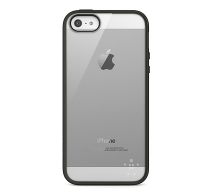 Belkin Comold Case Apple iPhone 5/5S/SE Black/Clear