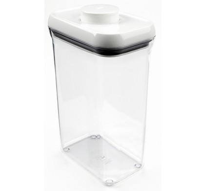 Voorraadbus 3 Liter.Oxo Good Grips Pop Voorraadbus Rechthoekig 3 2 Liter