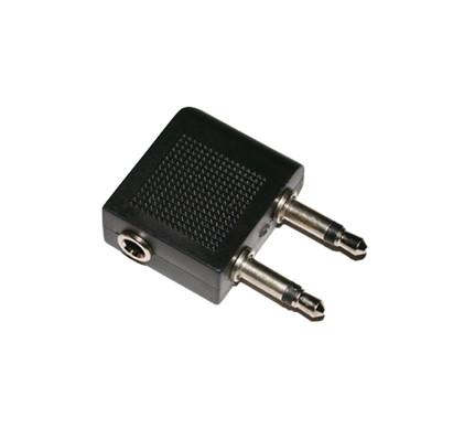 Veripart Vliegtuigadapter + 3,5 naar 6,3mm adapter