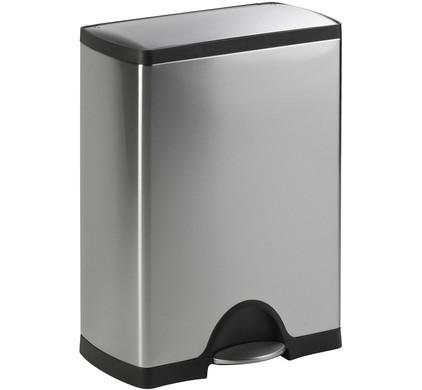 Simplehuman Afvalemmer Rectangular 38 Liter Mat Rvs.Simplehuman Rectangular Classic Gft 30 16 Liter Coolblue Voor