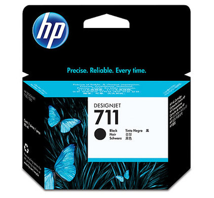 HP 711XL Ink Cartridge Zwart (CZ133A)