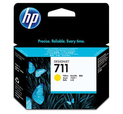 HP 711 Ink Cartridge Geel CZ132A