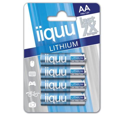 iiquu lithium AA + cleaning + geheugen