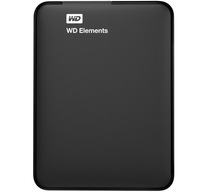 WD Elements Portable 500 GB + USB-stick