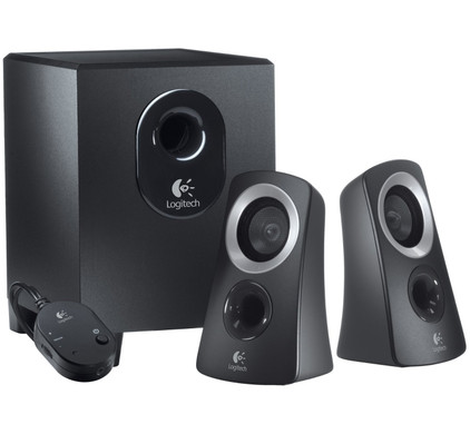 Logitech Z 313 2.1 Speakersysteem + Bluetooth Adapter