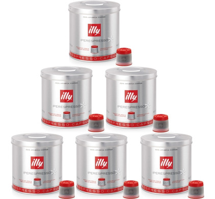 Illy MIE Capsules Normales 6 x 21 pièces
