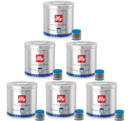 Illy MIE Capsules Lungo 6 x 21 pièces