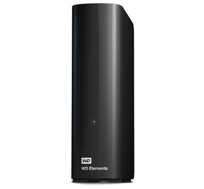 WD Elements Desktop 2 TB + Usb-stick