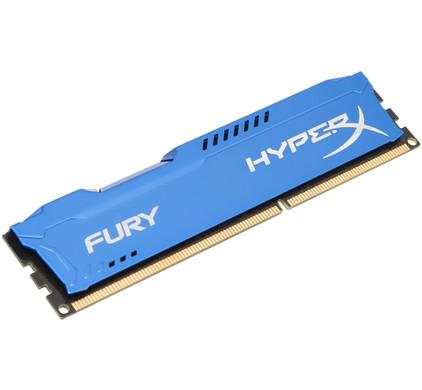 Kingston HyperX FURY 8 GB DIMM DDR3-1600 blauw