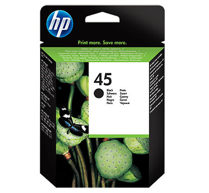 HP 45XL Cartridge Zwart (51645AE)