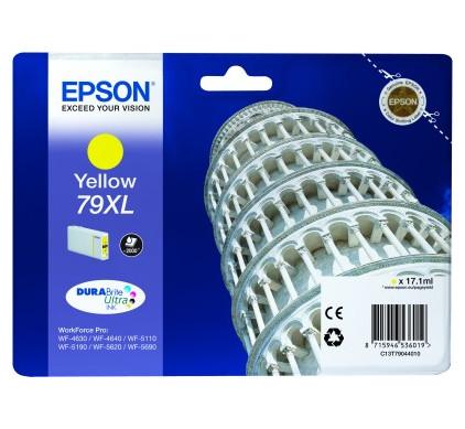 Epson 79 XL Cartridge Geel C13T79044010