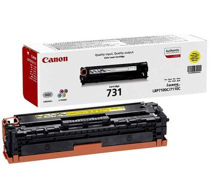 Canon 731Y Toner Geel + Toner Zwart XL + Papier