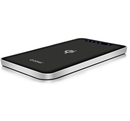 Zens Qi Wireless Powerbank 4.500 mAh Zwart