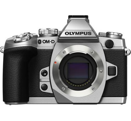 Olympus OM-D E-M1 body zilver