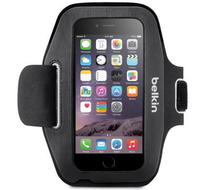 Belkin Sport-Fit Armband Apple iPhone 6/6s Zwart
