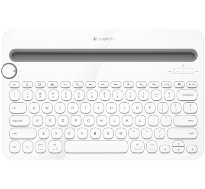 Logitech Multi Device Toetsenbord K480 wit AZERTY