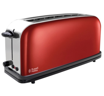 Russell Hobbs Colours Long Slot Rood