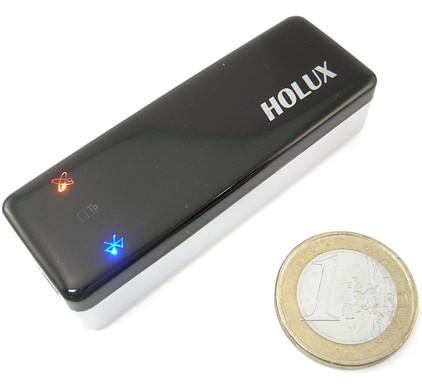 Holux GR-240 Bluetooth GPS Receiver + Dual Car Socket