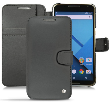 Noreve Tradition Leather B Case Motorola Nexus 6 Zwart