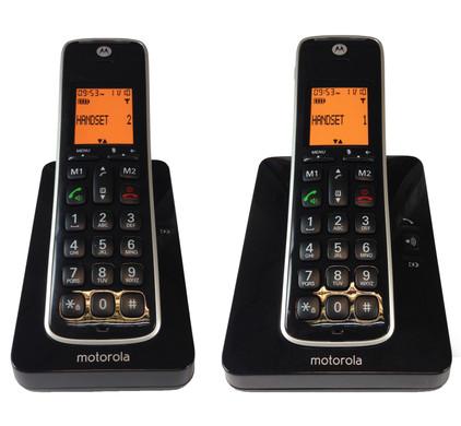 Motorola CD202 Duo Noir
