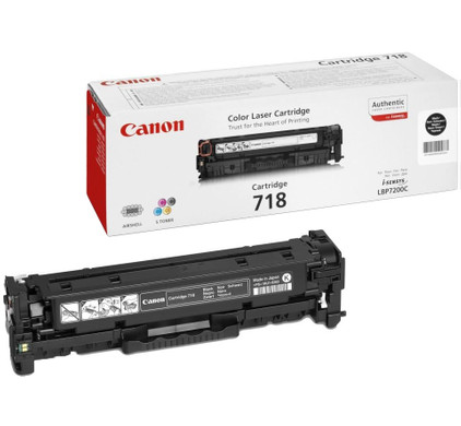 Canon CRG-718 Toner Zwart (2662B002)
