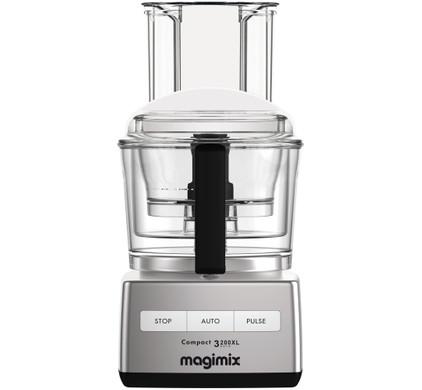 Magimix Compact 3200 XL Mat Chrome Main Image