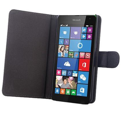 Gecko Covers Microsoft Lumia 535 Slimfit Cover Zwart