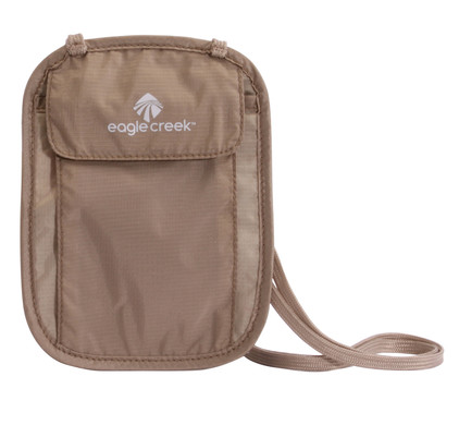 Eagle Creek Undercover Neck Wallet Khaki