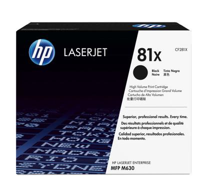 HP 81X Toner Zwart XL (CF281X)