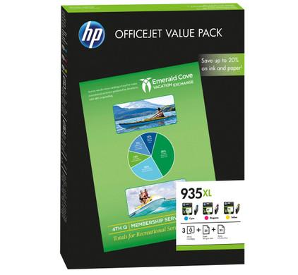 HP 935XL Value Pack (F6U78AE)
