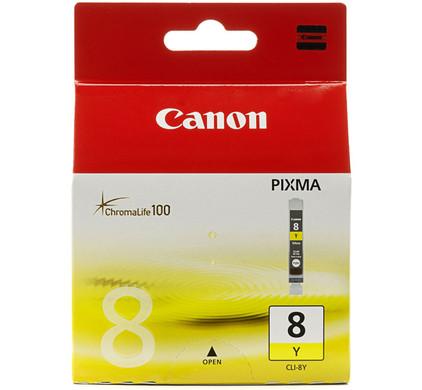 Canon CLI-8 Yellow + Fotopapier 10 x 15 (100 vel)