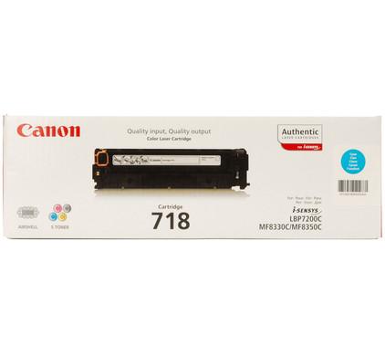 Canon CRG-718 Toner Cyaan (2661B002)