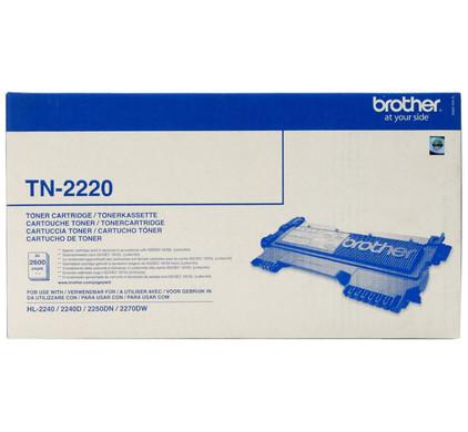 Brother TN-2220 Toner Black XL (zwart)