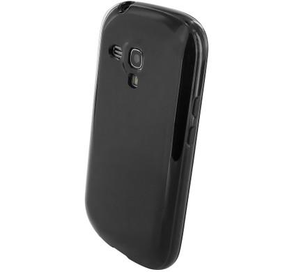 Mobiparts Essential TPU Case Samsung Galaxy S3 Mini Zwart