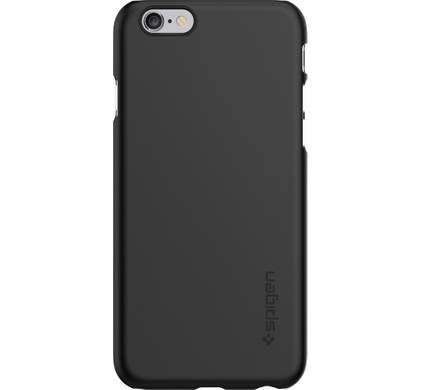 Spigen Thin Fit Apple iPhone 6/6s Zwart