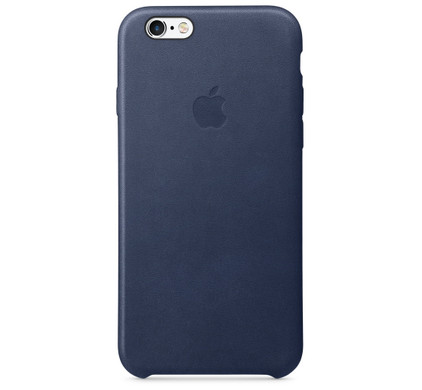 Apple iPhone 6/6s Leather Case Blauw