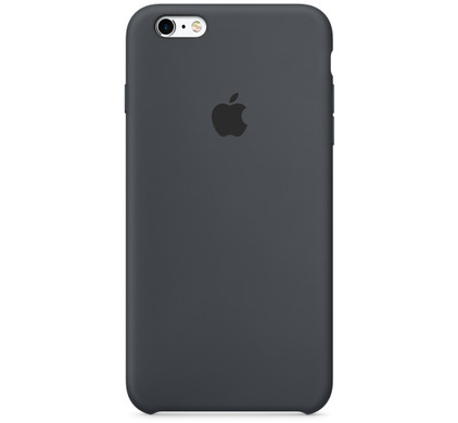 Apple iPhone 6/6s Silicone Case Donkergrijs