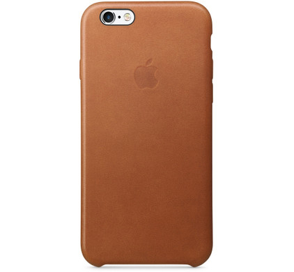 Apple iPhone 6/6s Leather Case Bruin