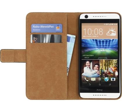 Mobilize Classic Wallet Book Case HTC Desire 626 Zwart