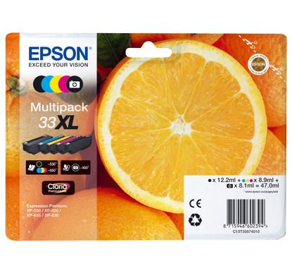 Epson 33 5-Kleuren Pack XL (C13T33574010)